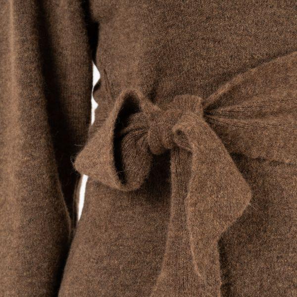 Свитер Nanushka CLETO коричневый