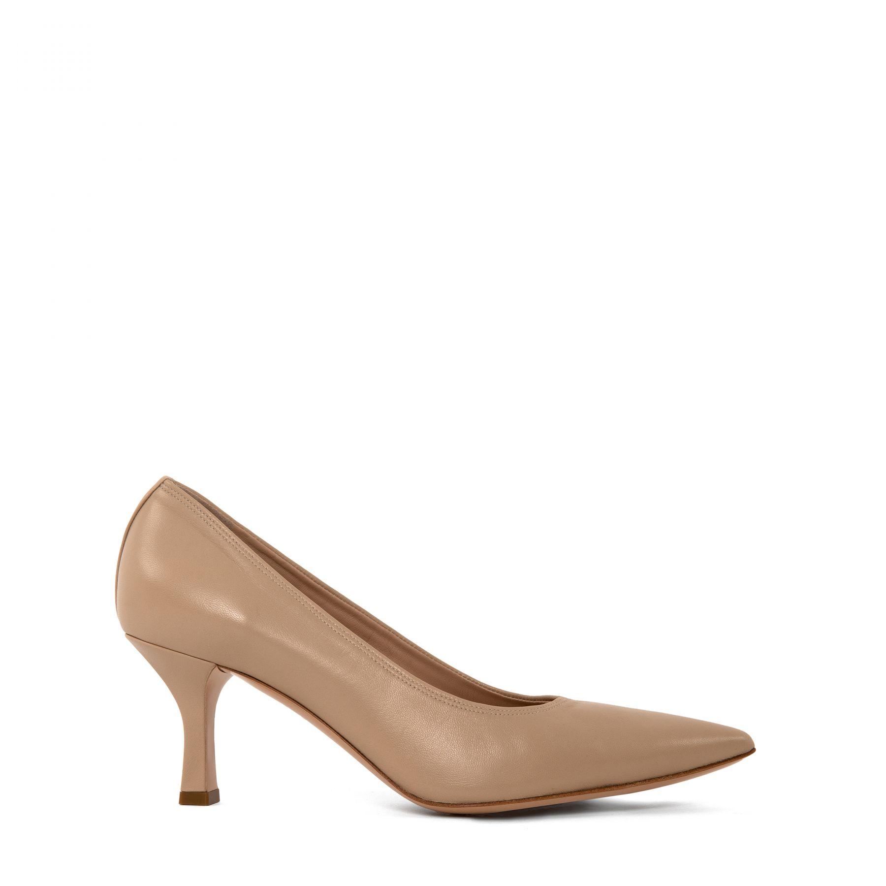 Туфли Casadei бежевые