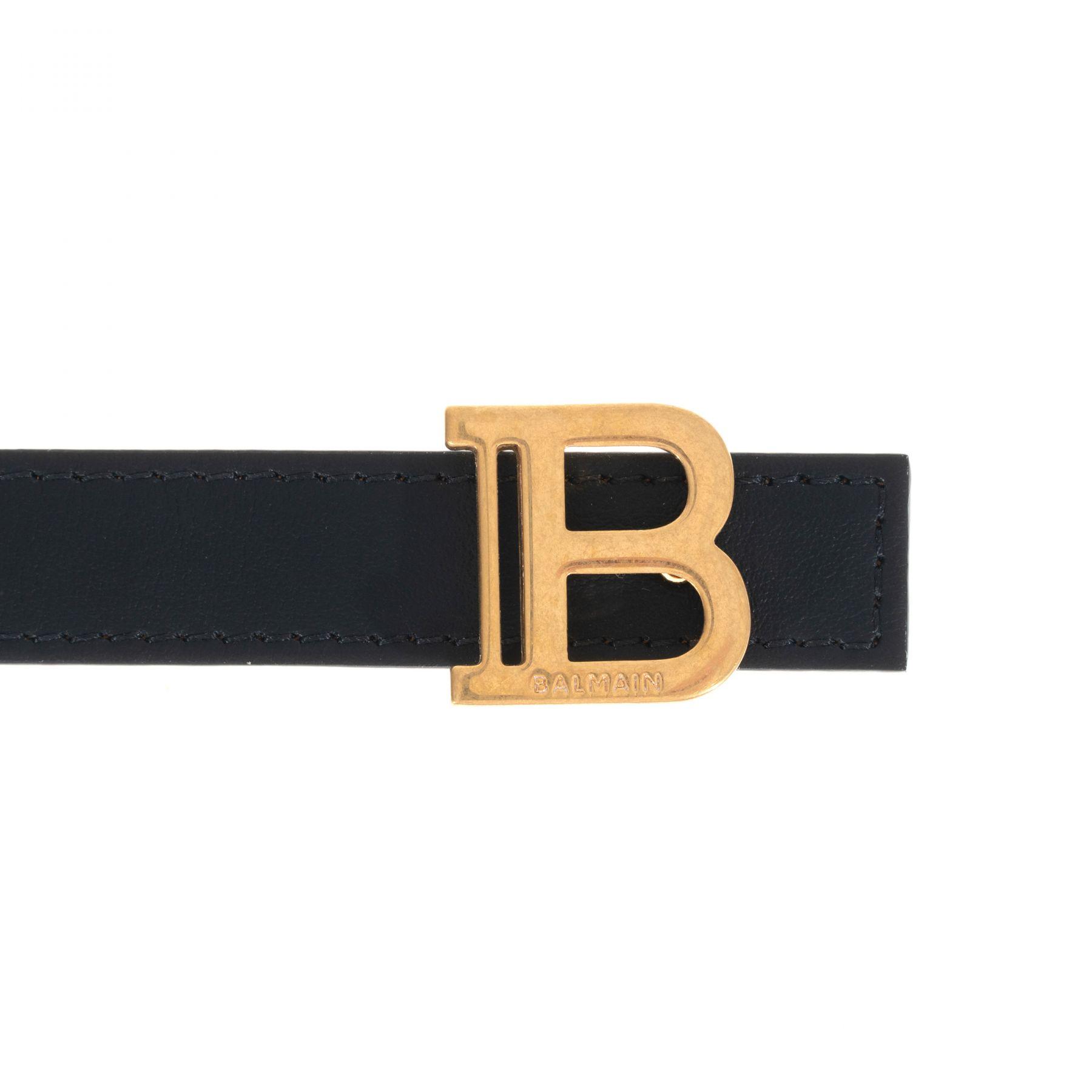 Ремень Balmain черный