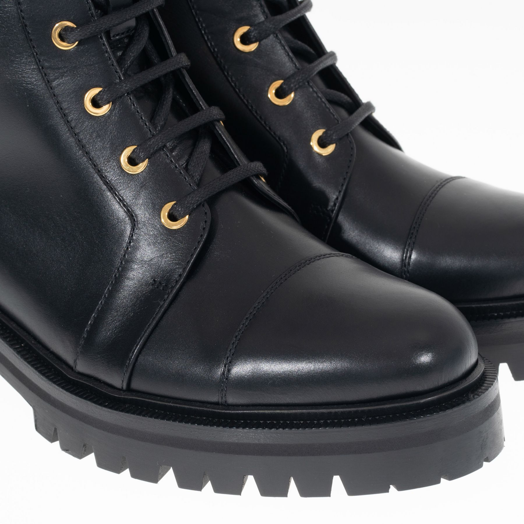 Ботинки Balmain Romy черные