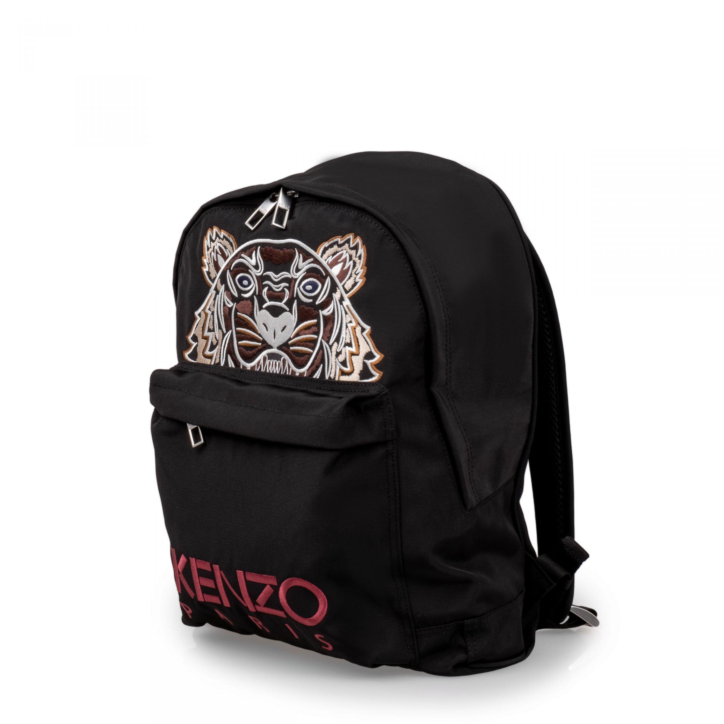 Рюкзак Kenzo Campus Tiger черный