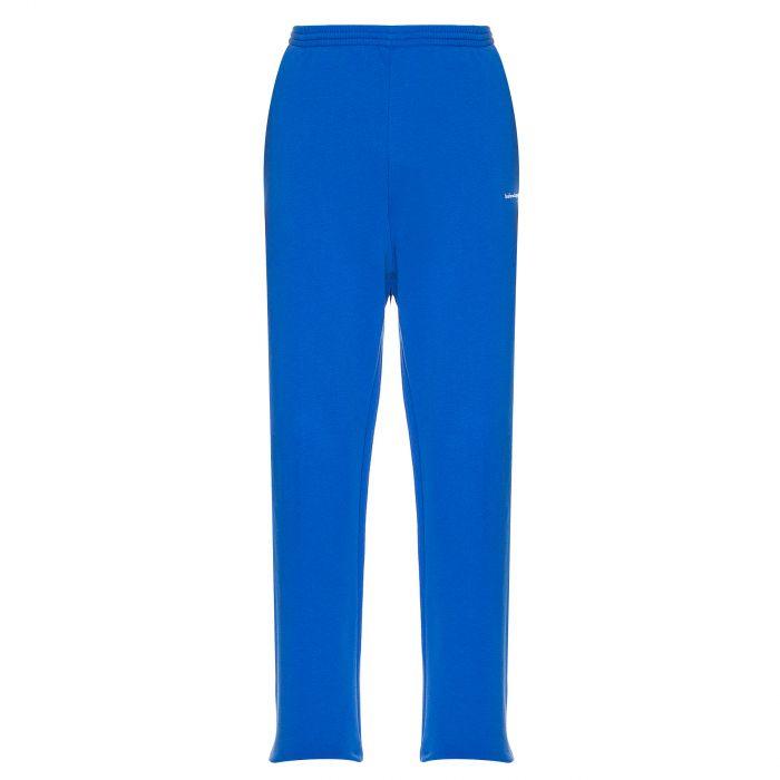 Брюки Balenciaga голубые