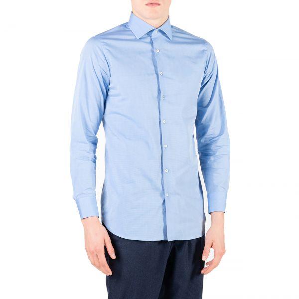 Рубашка длин.рук. Tombolini голубая