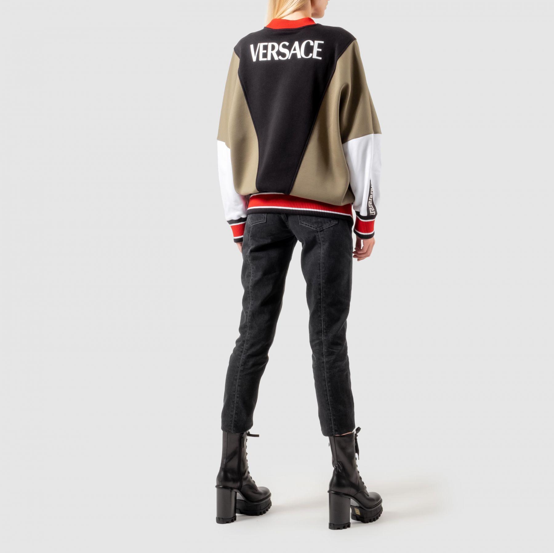 Толстовка Versace разноцветная