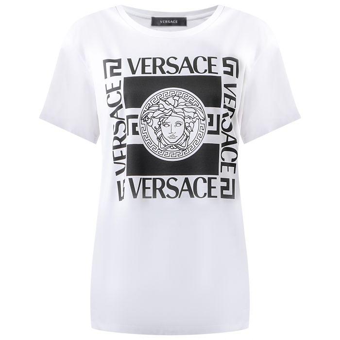 Футболка Versace белая