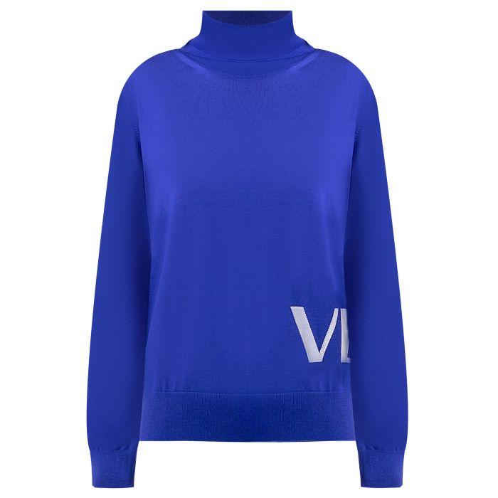 Свитер Versace синий