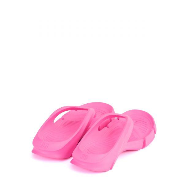 Шлепанцы Balenciaga Mold Thong розовые