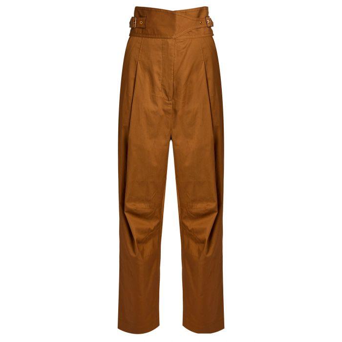 Брюки Zimmermann LADYBEETLE коричневые