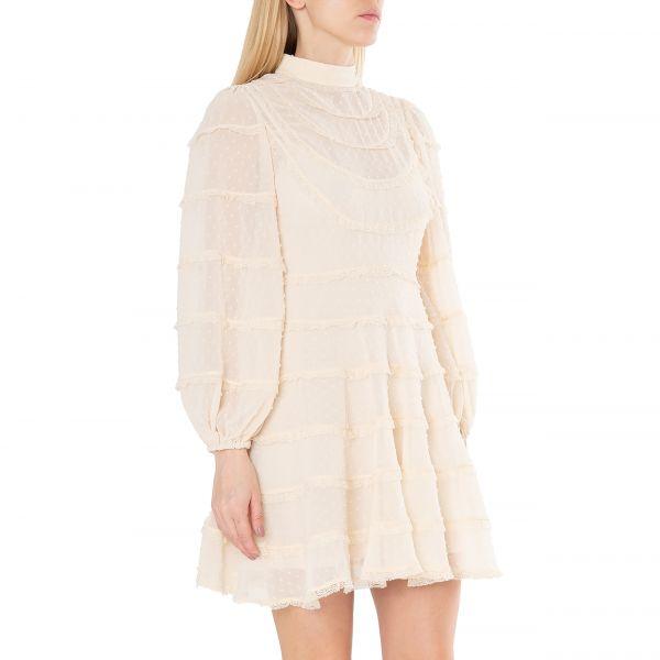 Платье Zimmermann бежевое