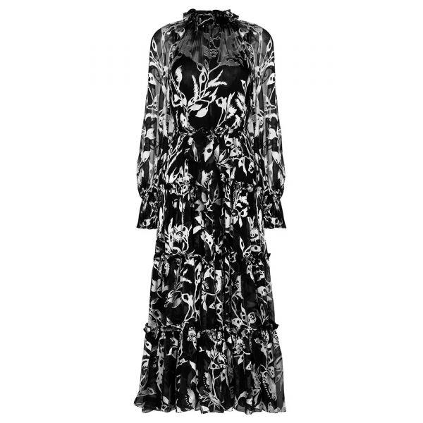 Платье Zimmermann LADYBEETLE черное