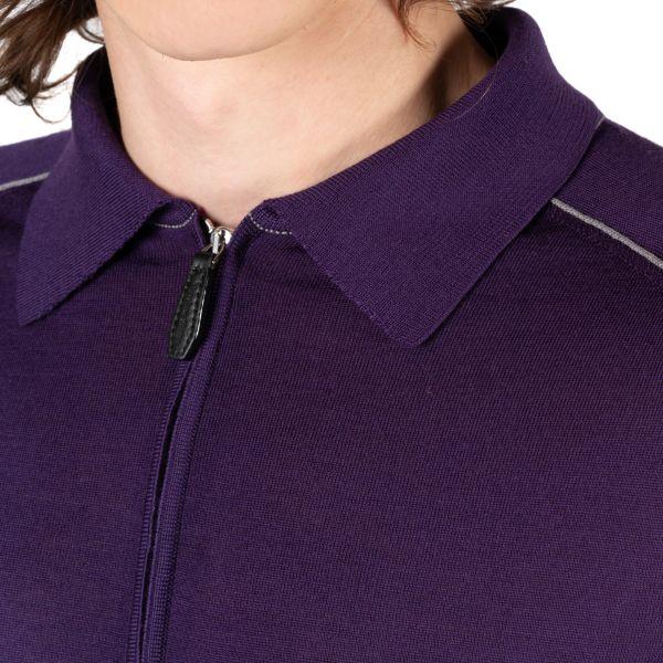 Поло Massimo Sforza фиолетовое