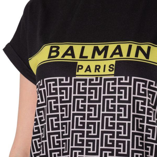 Футболка Balmain черная