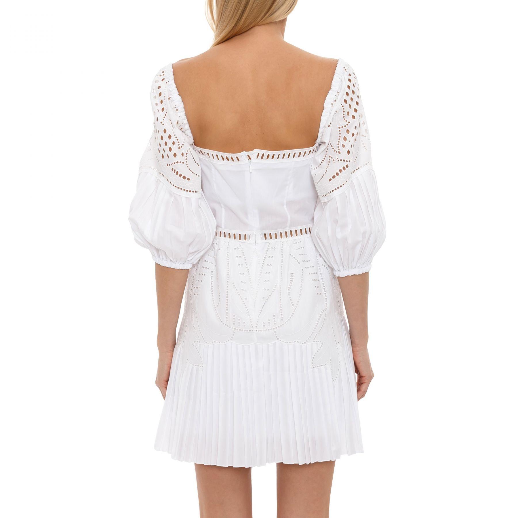 Платье Alberta Ferretti белое