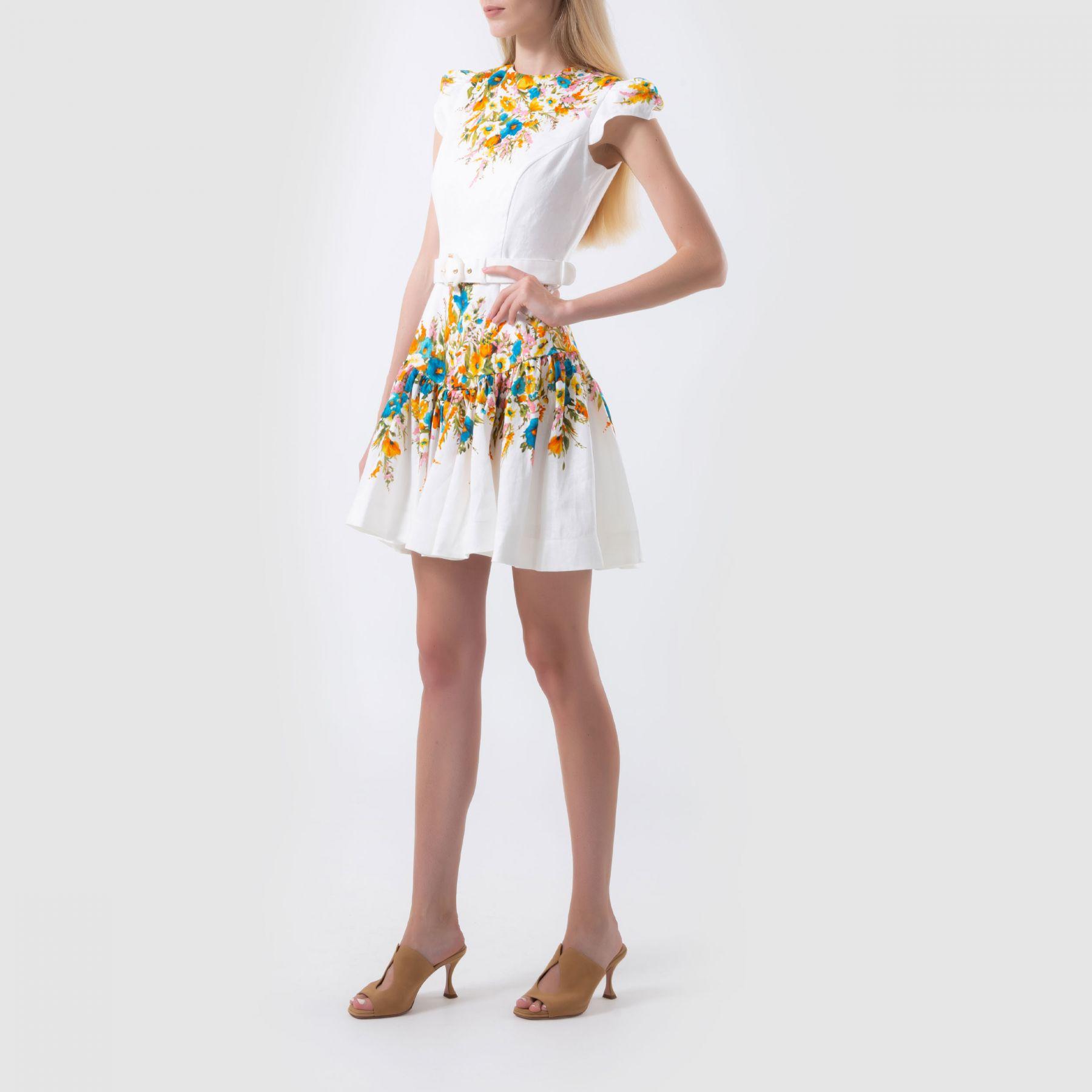 Платье Zimmermann белое
