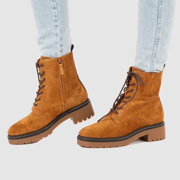 Ботинки Tory Burch MILLER рыже-коричневые