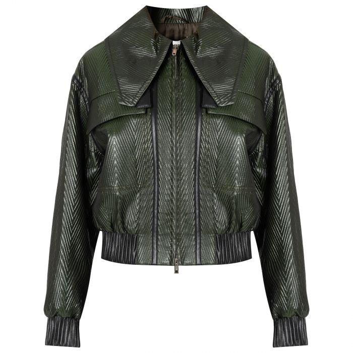 Куртка 3.1 Phillip Lim темно-зеленая