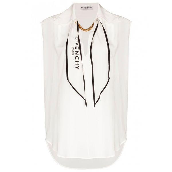 Блуза Givenchy белая