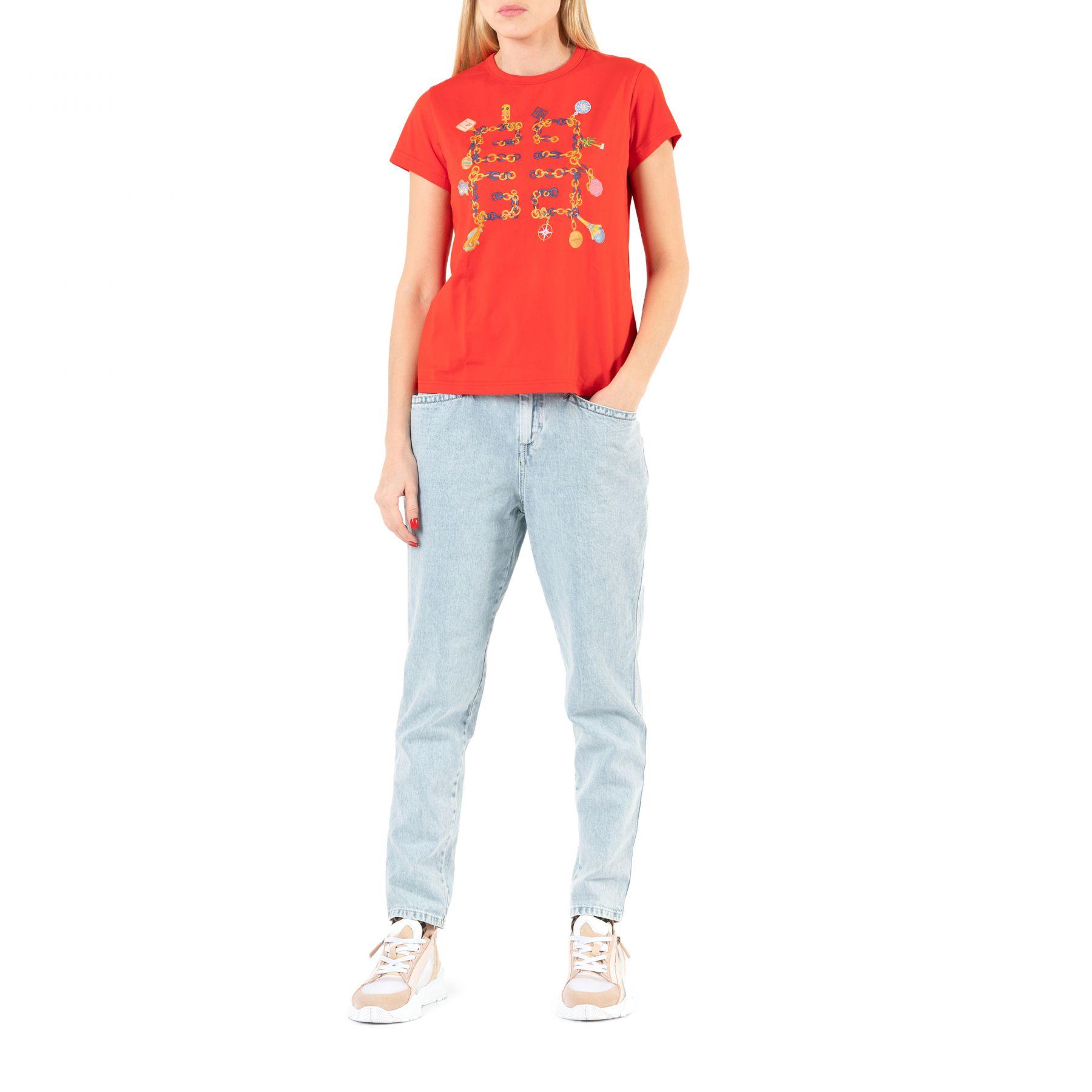 Футболка Givenchy красная