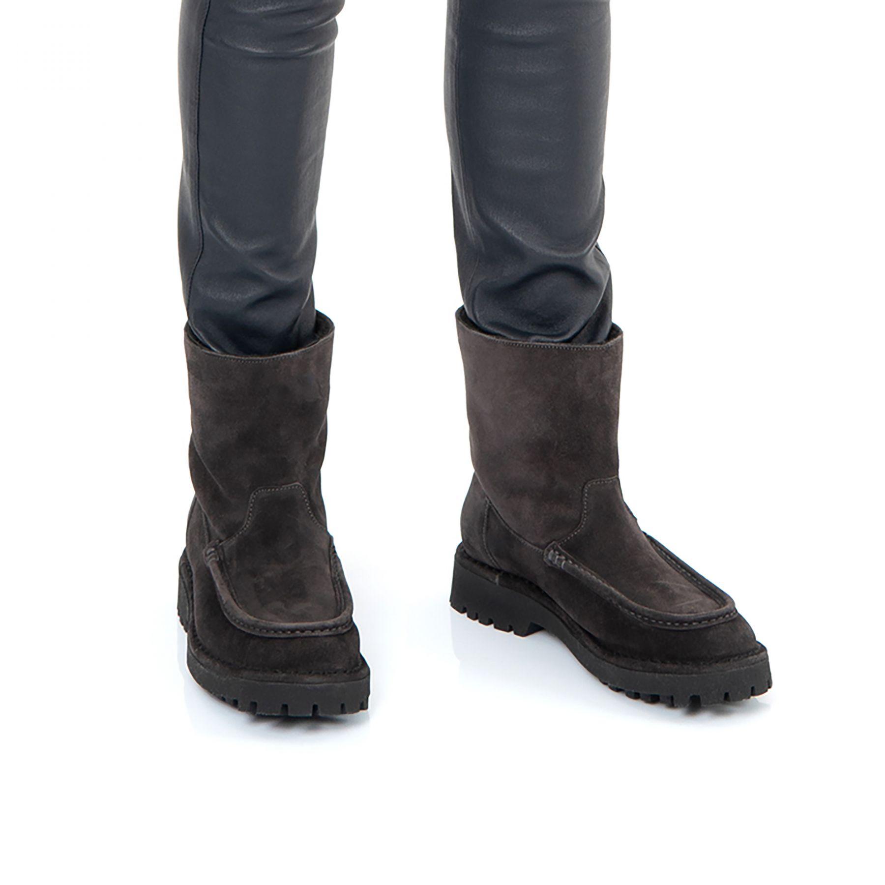 Ботинки на меху Kenzo K-Mount черные
