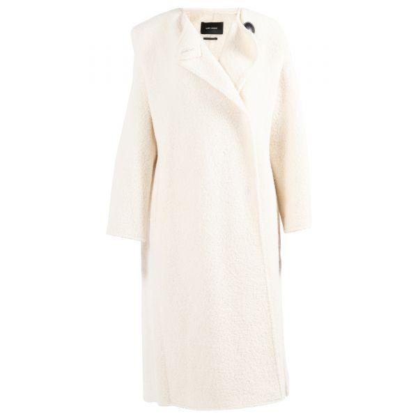 Пальто Isabel Marant GELTON молочное