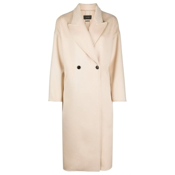 Пальто Isabel Marant бежевое