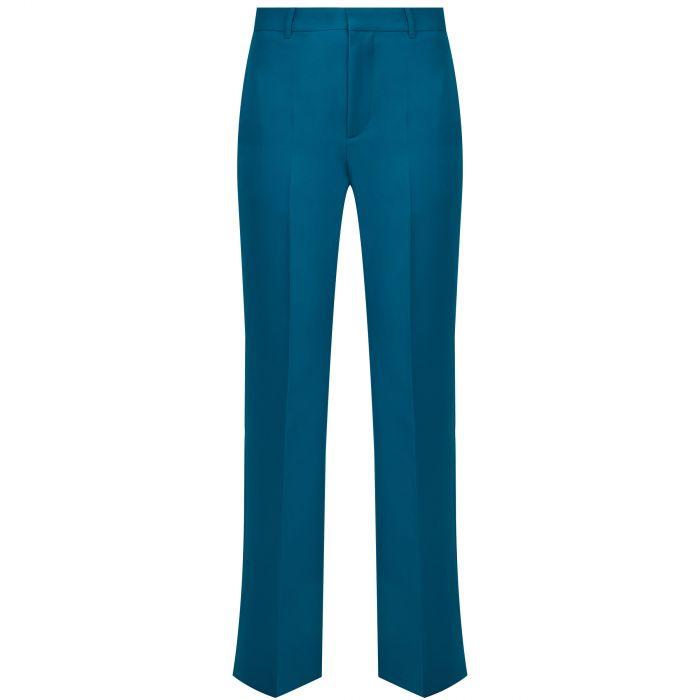 Брюки Balenciaga синие