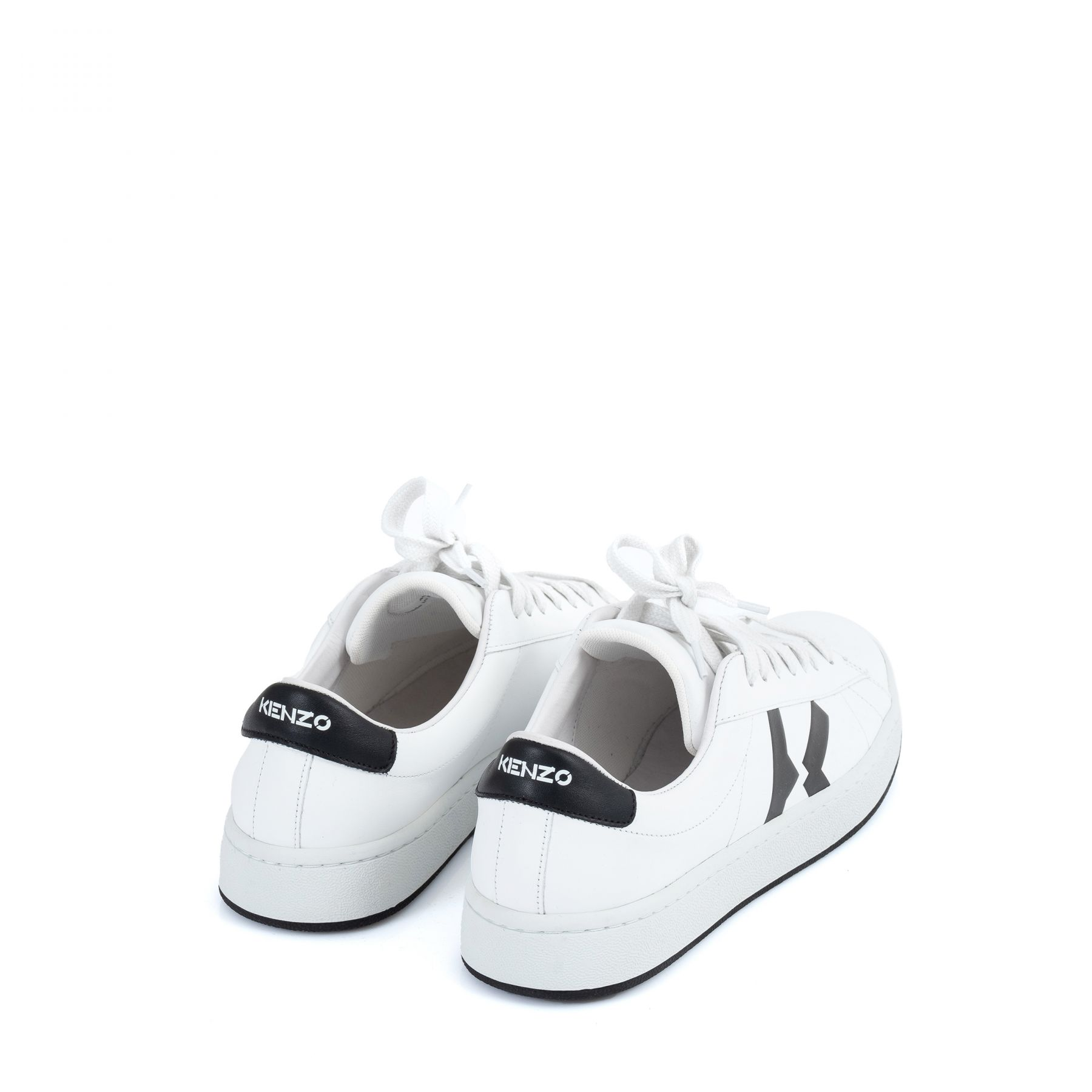 Сникеры Kenzo Kourt белые