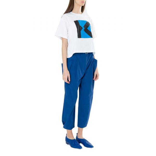 Балетки Kenzo WRINKLE синие
