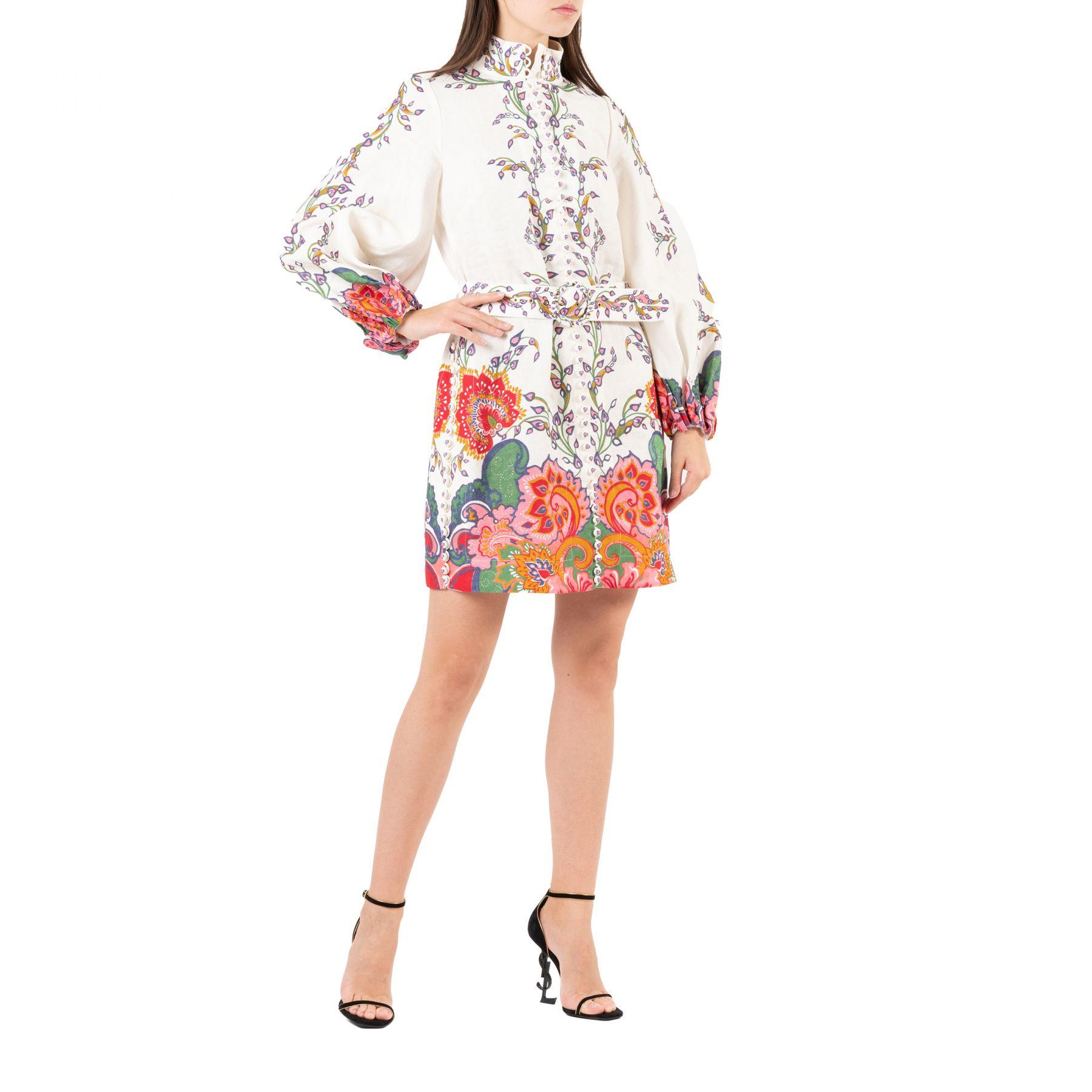 Платье Zimmermann LOVESTRUCK разноцветное