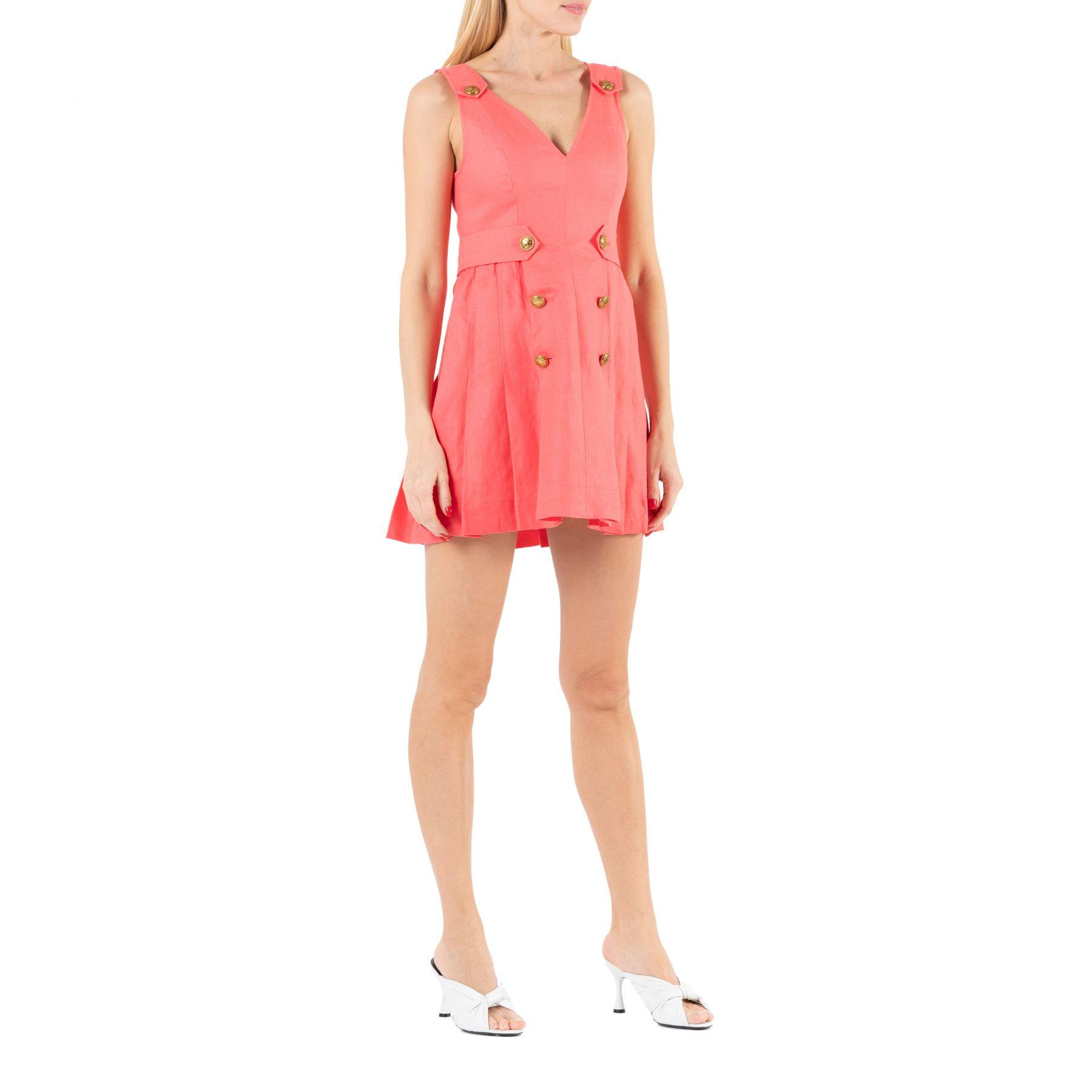 Платье Zimmermann LOVESTRUCK розовое