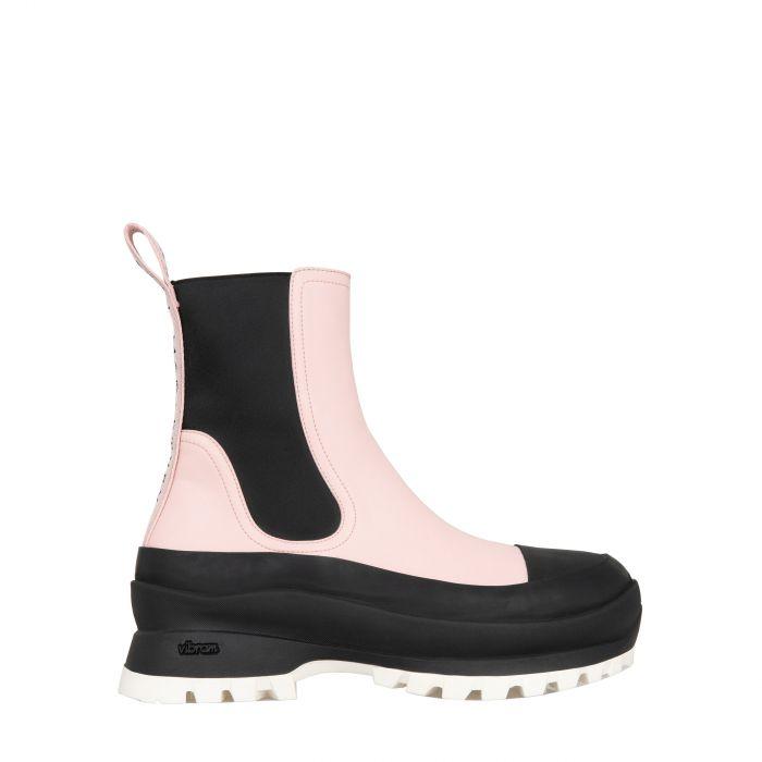 Ботинки флет Stella McCartney Trace розовые