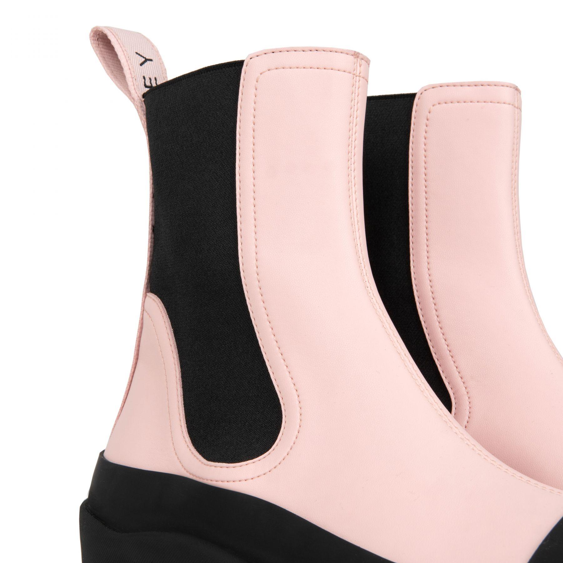 Ботинки флет Stella McCartney розовые
