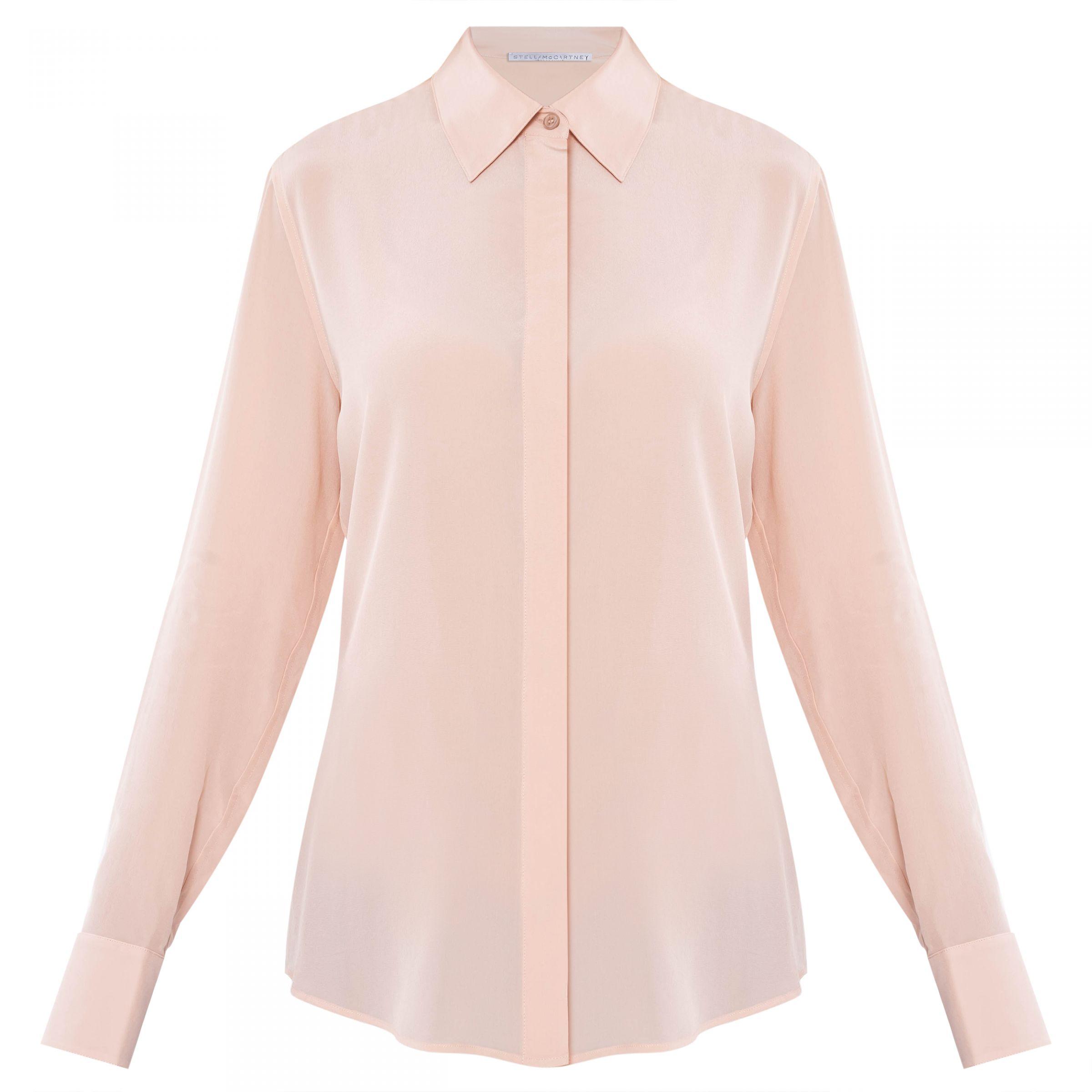 Блуза Stella McCartney пудровая