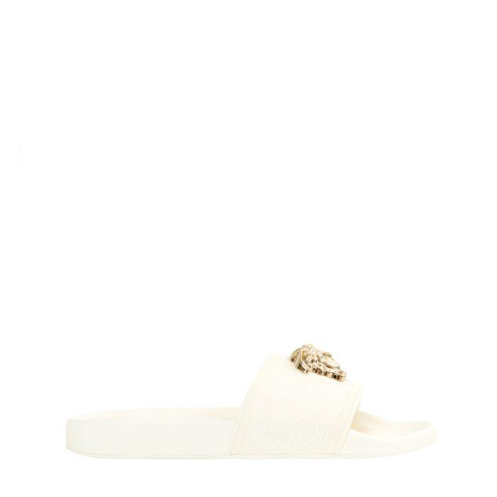 Шлепанцы Versace PALAZZO белые