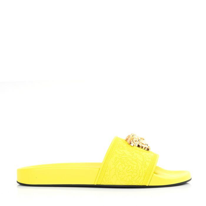 Шлепки Versace PALAZZO желтые