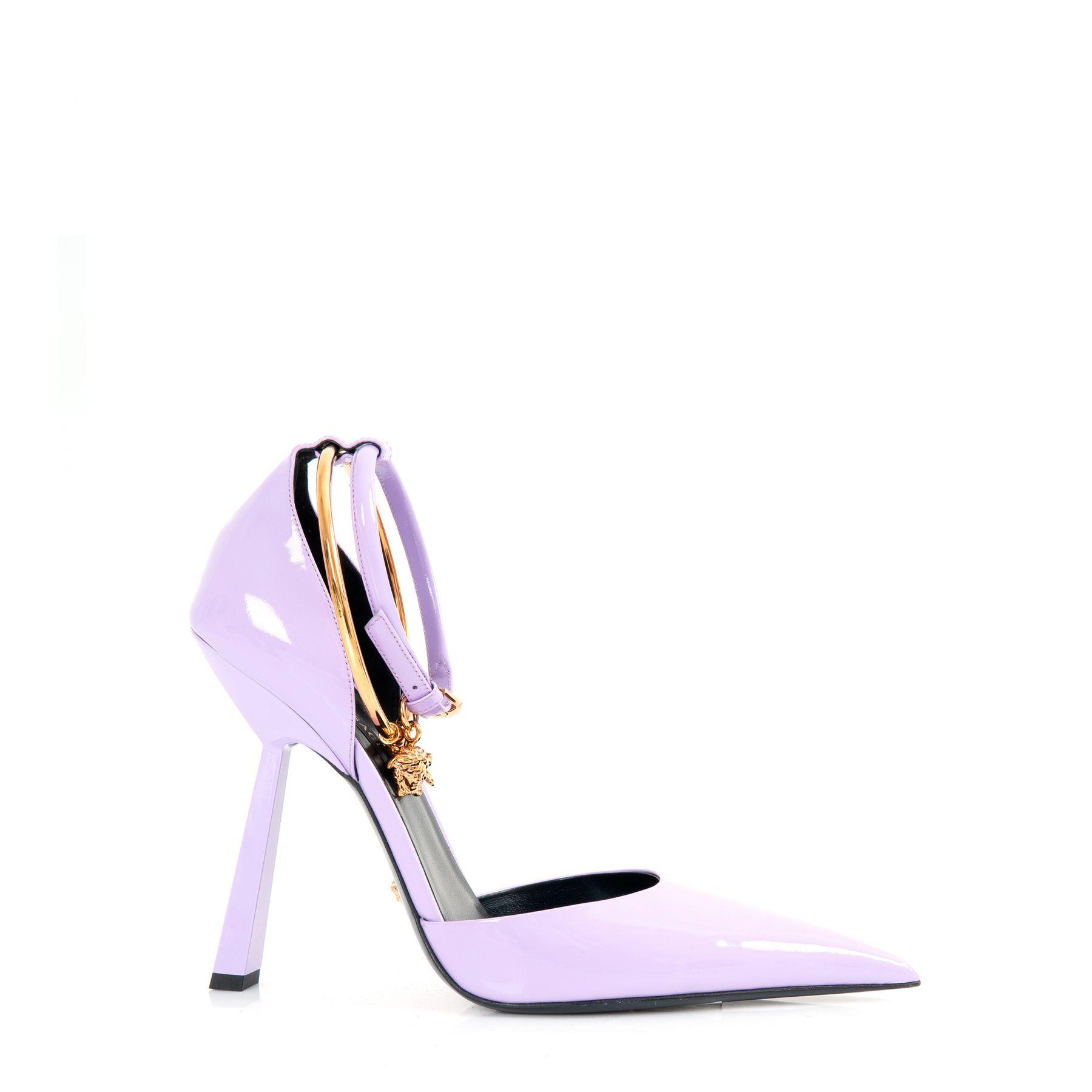 Туфли Versace MEDUSA AETERNITAS лавандовые