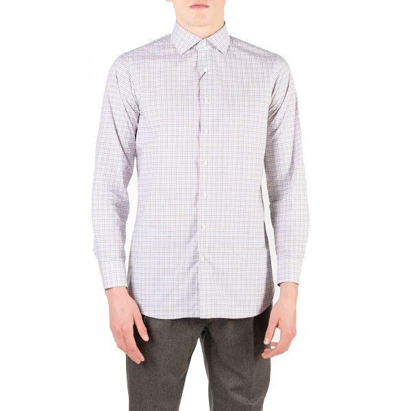 Рубашка с длинными рукавами Tombolini бело-синяя