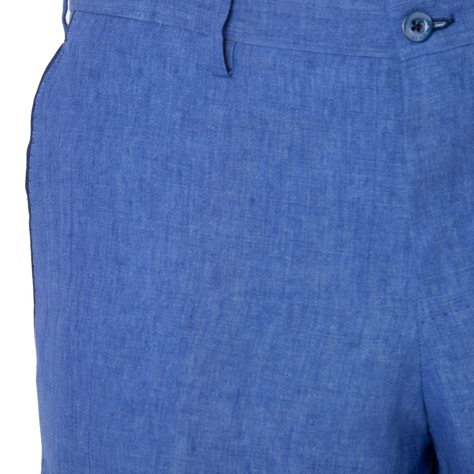 Шорты Bertolo Cashmere сине-голубые