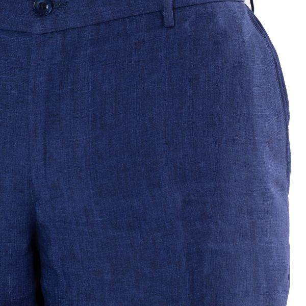 Брюки Bertolo Cashmere темно-синие