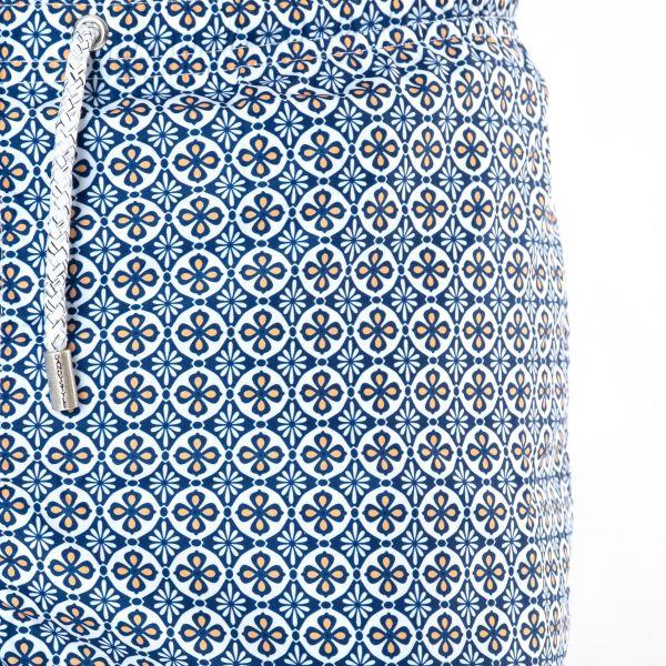 Шорты для плавания Bertolo Cashmere сине-белые