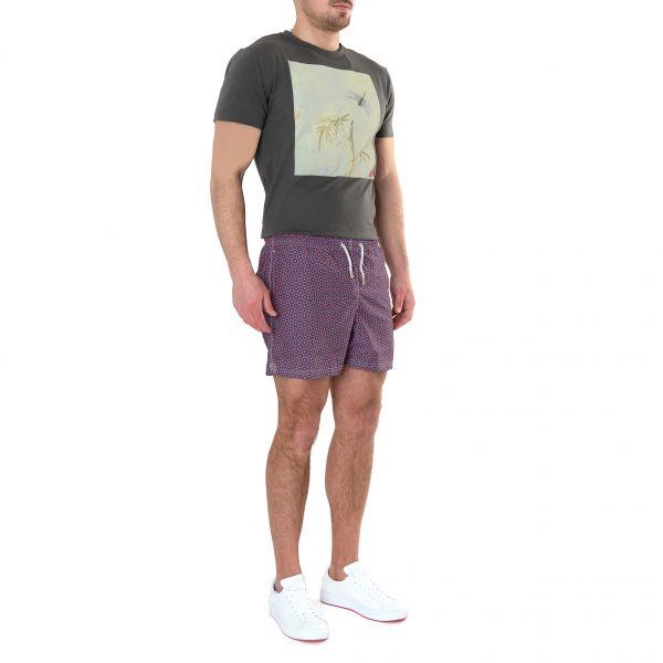 Шорты для плавания Bertolo Cashmere фиолетовые