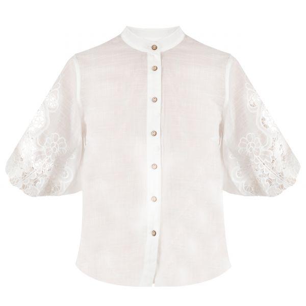 Блуза Zimmermann BRIGHTON белая