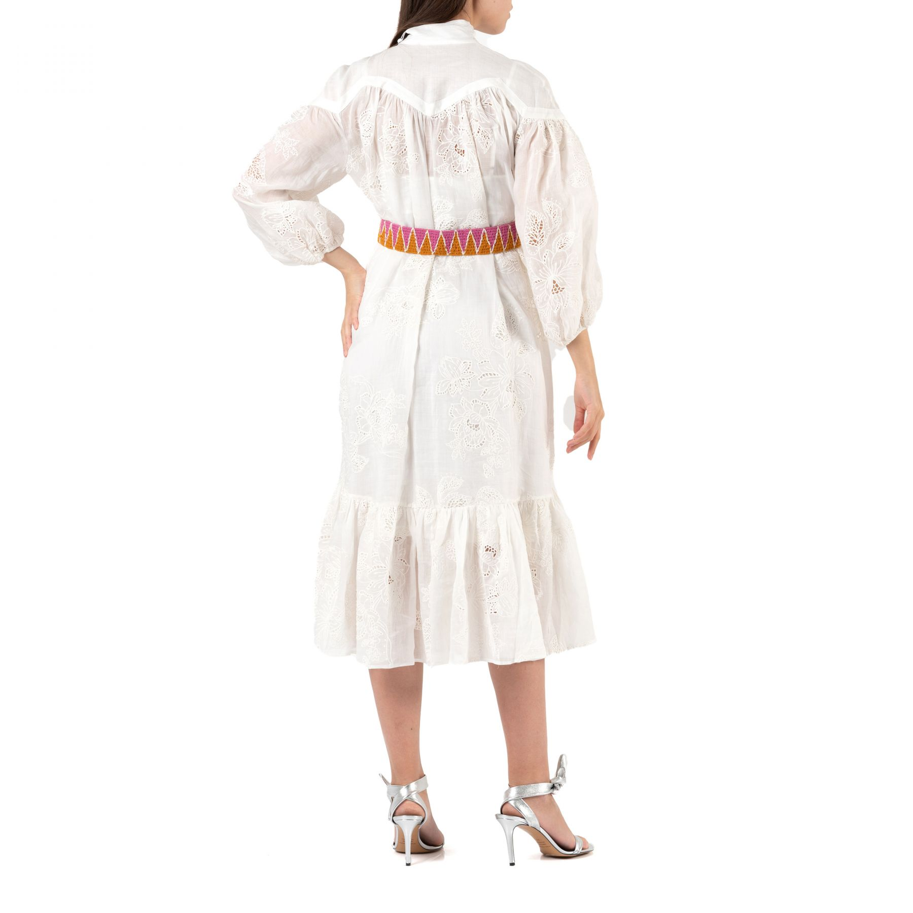 Платье Zimmermann RIDERS белое