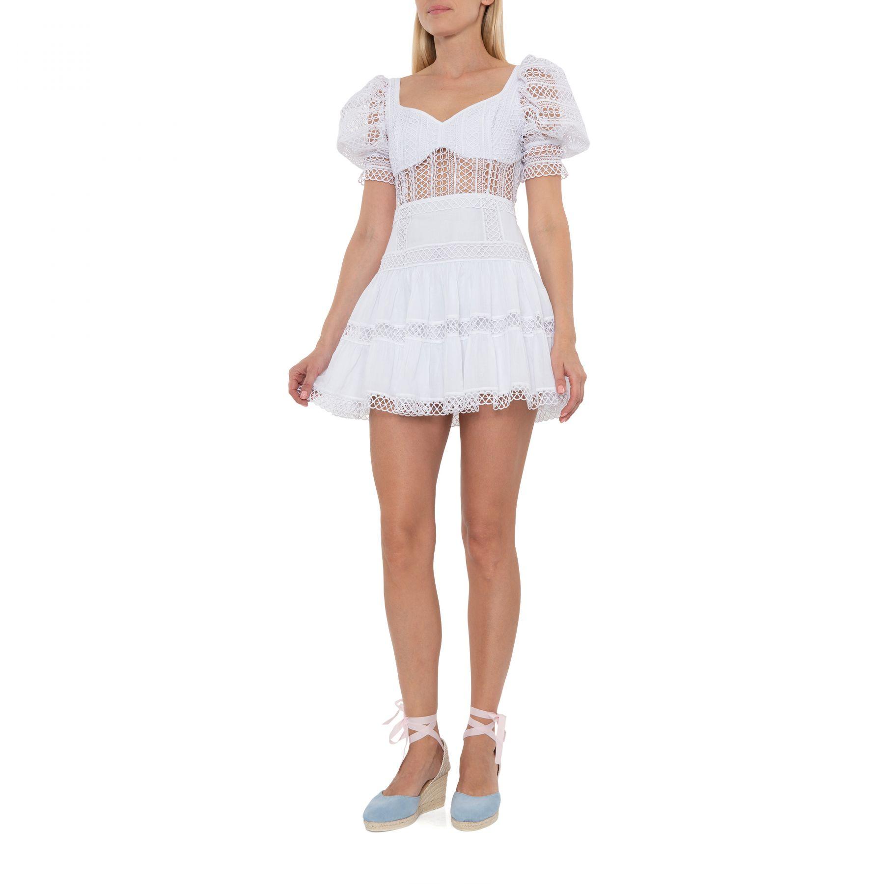 Платье Charo Ruiz Katharine белое