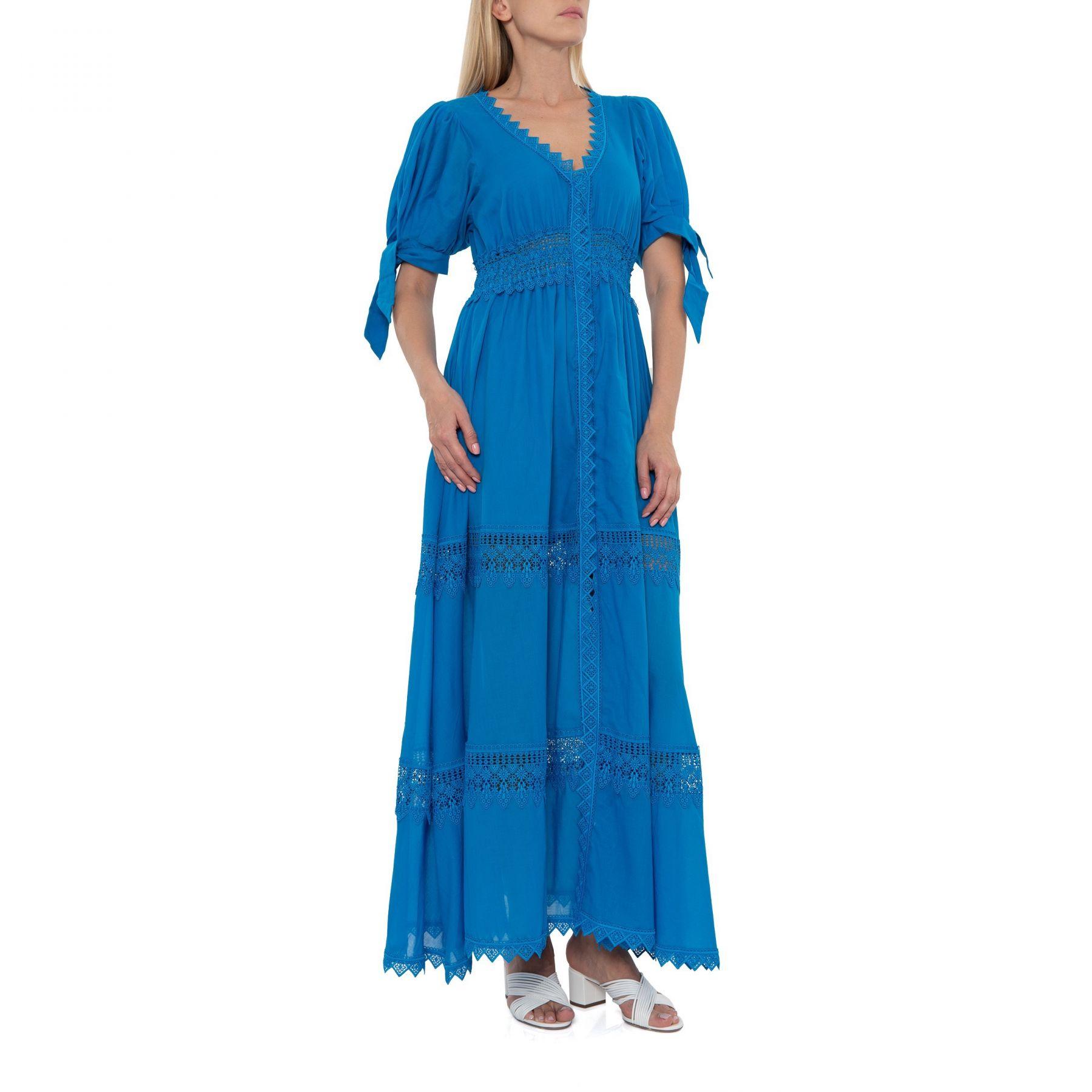 Платье Charo Ruiz Thelma синее