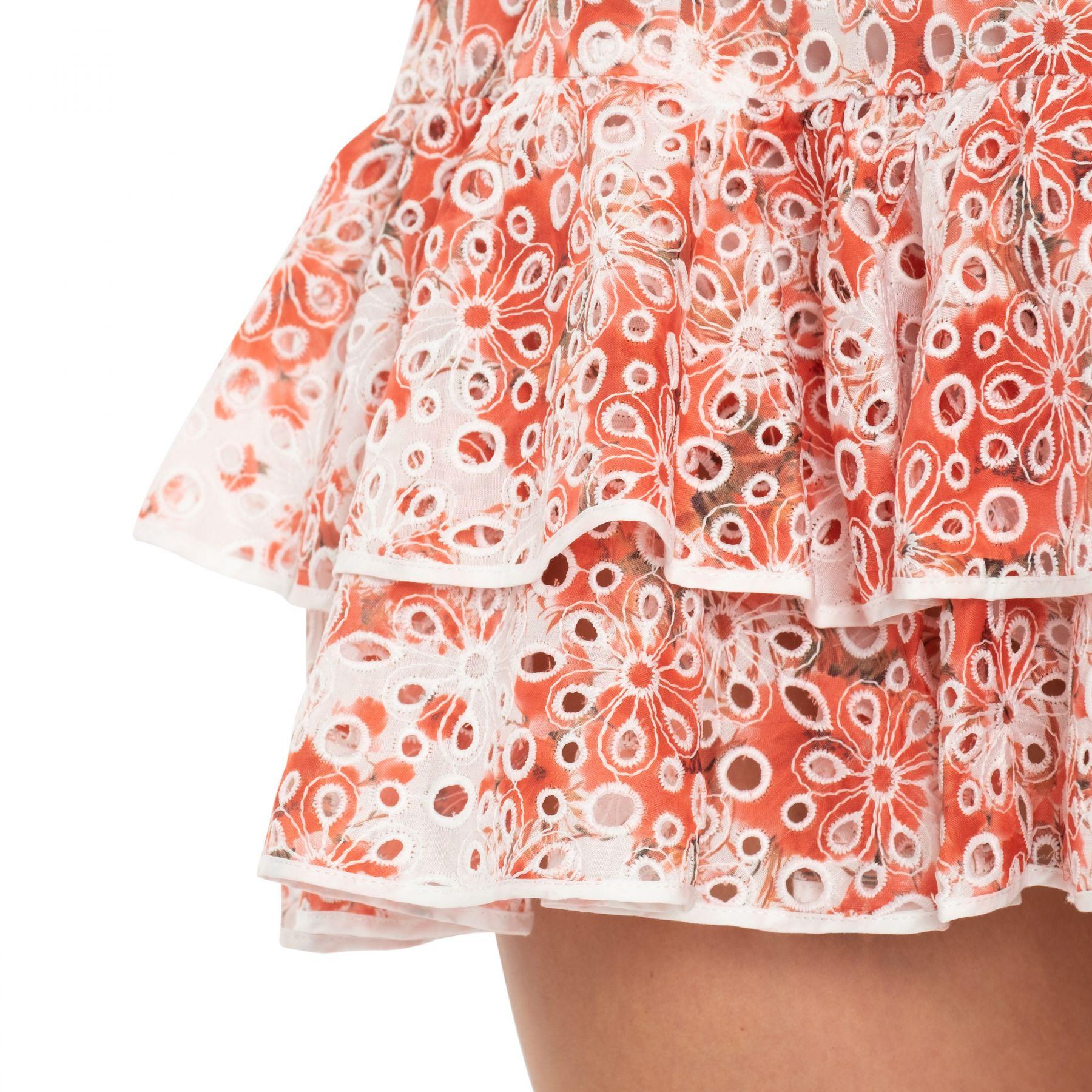 Платье Charo Ruiz Marianne красно-белое