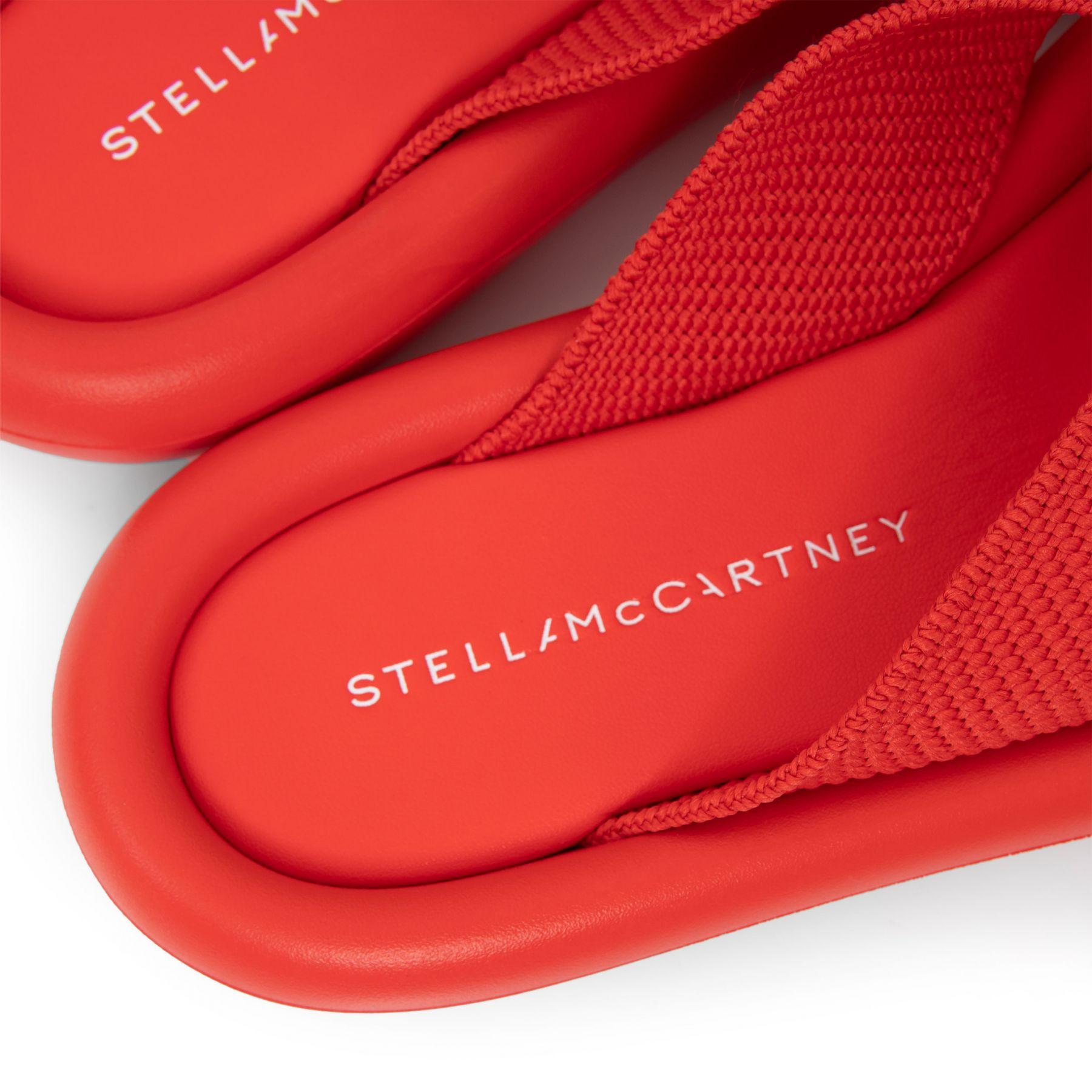 Шлепанцы Stella McCartney Air красные