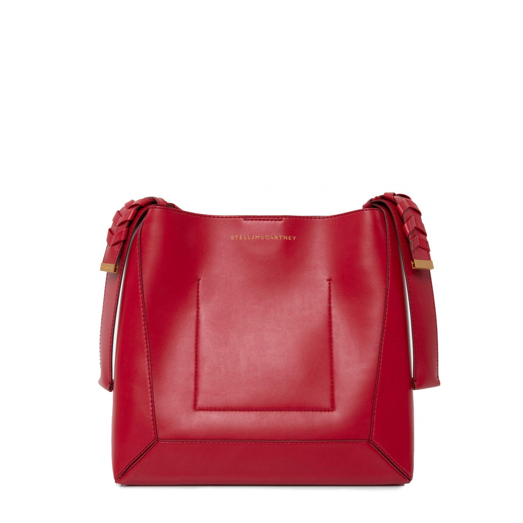 Сумка Stella McCartney Medium Hobo Bag красная