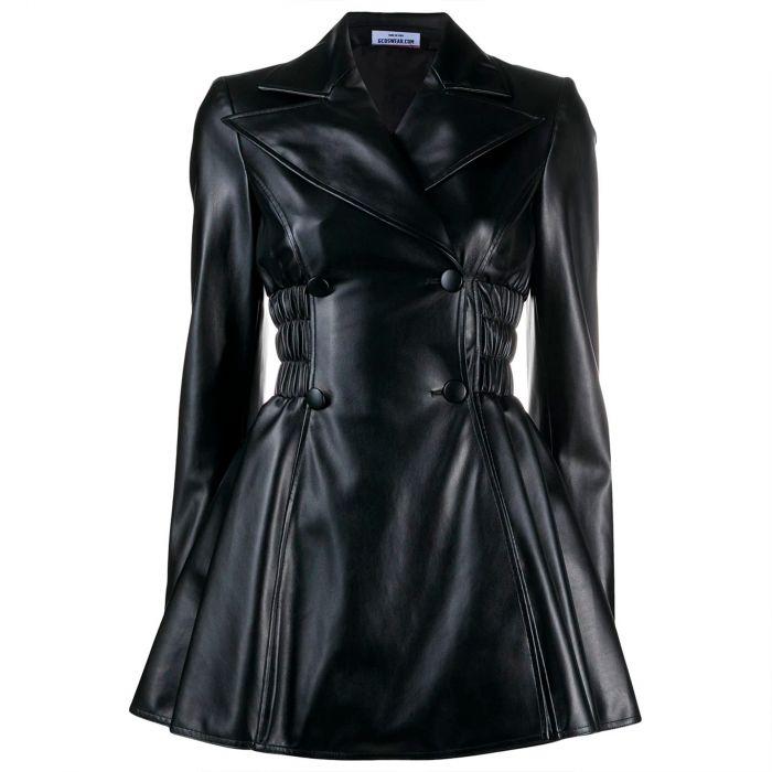 Платье GCDS черное