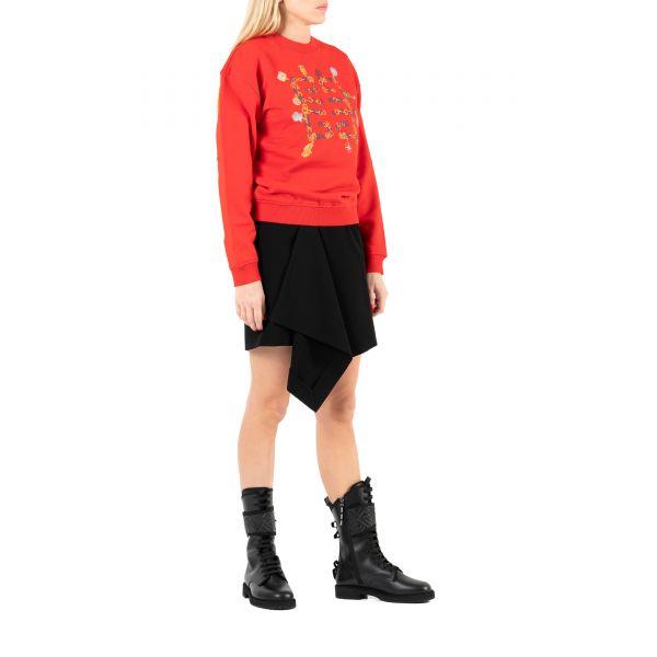 Свитшот Givenchy красный